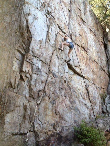 """The Wall"" Crowders Mountain, NC"