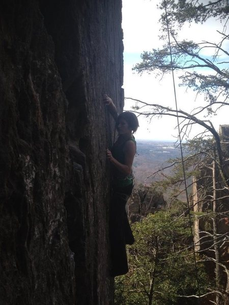 """J-Crack"" Crowders mountain, NC"