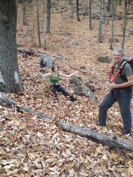 Slippery fall in NC