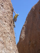 """Rock Climbing Photo: The """"Booty Route"""" about to claim another..."""