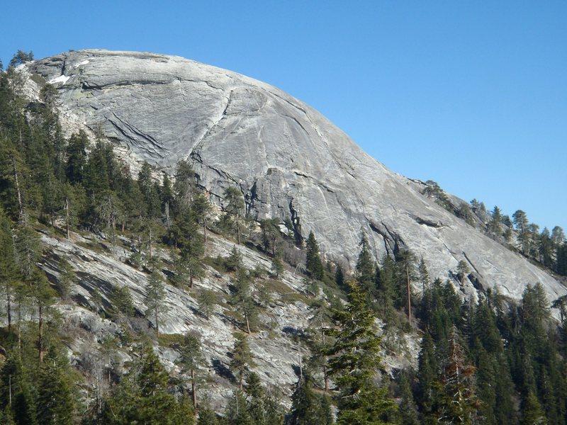 Rock Climbing Photo: Little Baldy