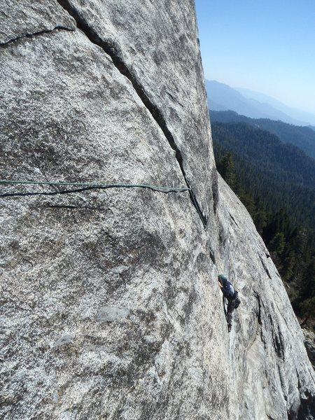 Rock Climbing Photo: I call camera tilt!
