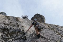 """Rock Climbing Photo: One of the """"other"""" pitches that leads to..."""