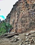 Rock Climbing Photo: Camera:  iPhone 5 Editing:  Snapseed