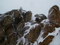 Rock Climbing Photo: The short step to the summit