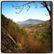 Rock Climbing Photo: The view looking back towards North Conway from P2...