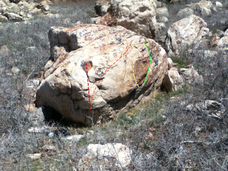 Rock Climbing Photo: Deck problems