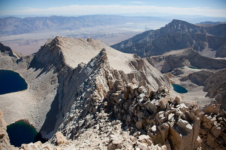 Rock Climbing Photo: View from the east summit