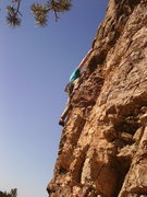 Rock Climbing Photo: FA Power to Burn