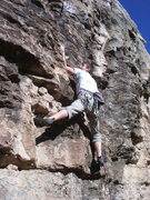 Rock Climbing Photo: FA Too Cheap to Meet Her