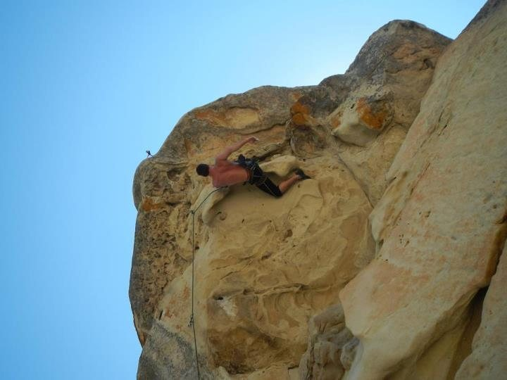 Rock Climbing Photo: Redpoint
