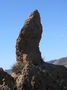 Rock Climbing Photo: The Aiguille de Texas Canyon.
