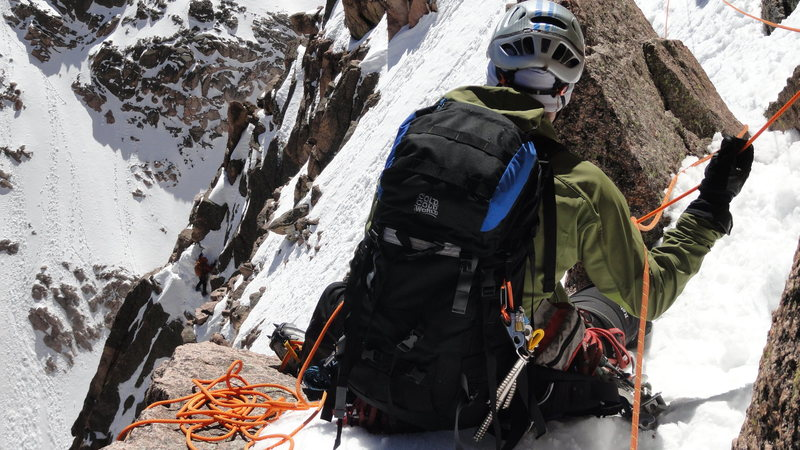 Longs Peak - Notch Couloir