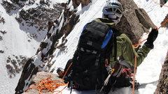 Rock Climbing Photo: Longs Peak - Notch Couloir