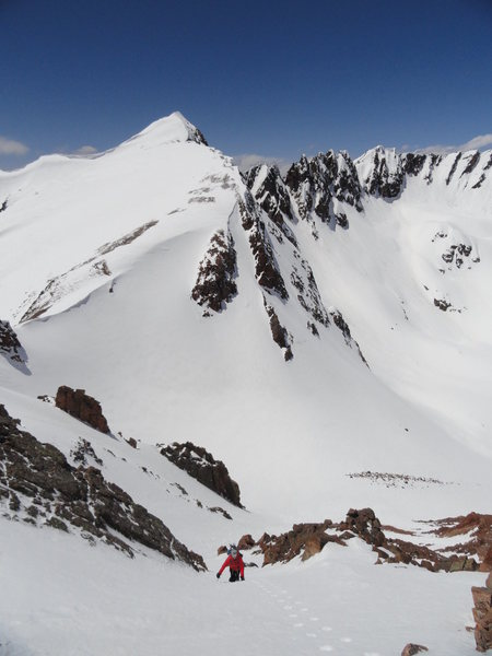 Rock Climbing Photo: Mount Valhalla - West Ridge