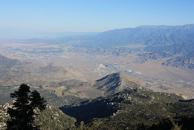 The view from Grandview Point, Black Mountain