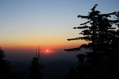 Rock Climbing Photo: Sunset, Black Mountain