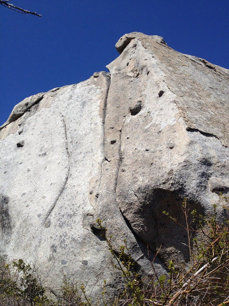 Rock Climbing Photo: True Grit.