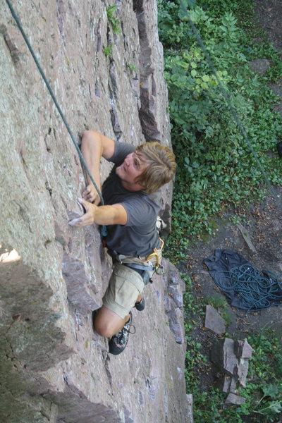 Jade Hillestad climbs Glimmer Circa 2010