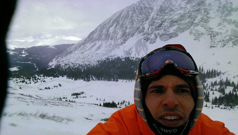 Rock Climbing Photo: On Quandary peak
