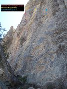Rock Climbing Photo: Route detail for Unearth Thee Delights, Skeleton K...