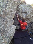 Rock Climbing Photo: Franco on Desigual