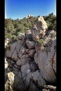 Rock Climbing Photo: Where eagles dare