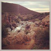 Rock Climbing Photo: Waterfall area