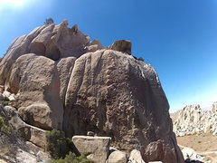 Rock Climbing Photo: View of the Patina Wall from Sundagger Wall