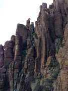 """Rock Climbing Photo: Kind of our first view, showing both """"Tower O..."""