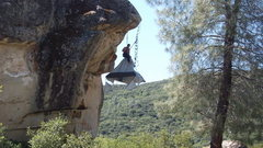 Rock Climbing Photo: Rattlesnakes are for noobs