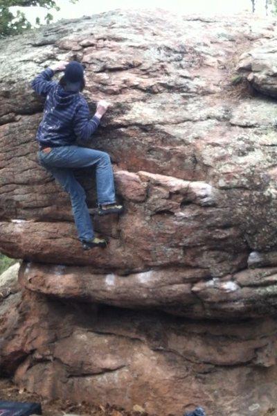 Rock Climbing Photo: Bouldering at the Den.