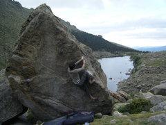 Rock Climbing Photo: Emancipation Right, V4.