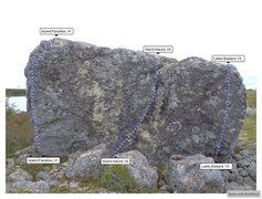 Rock Climbing Photo: Island Front Topo