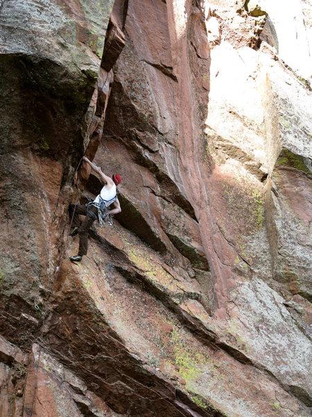 Rock Climbing Photo: Ace of Spades FA, Hard Cor Photography.