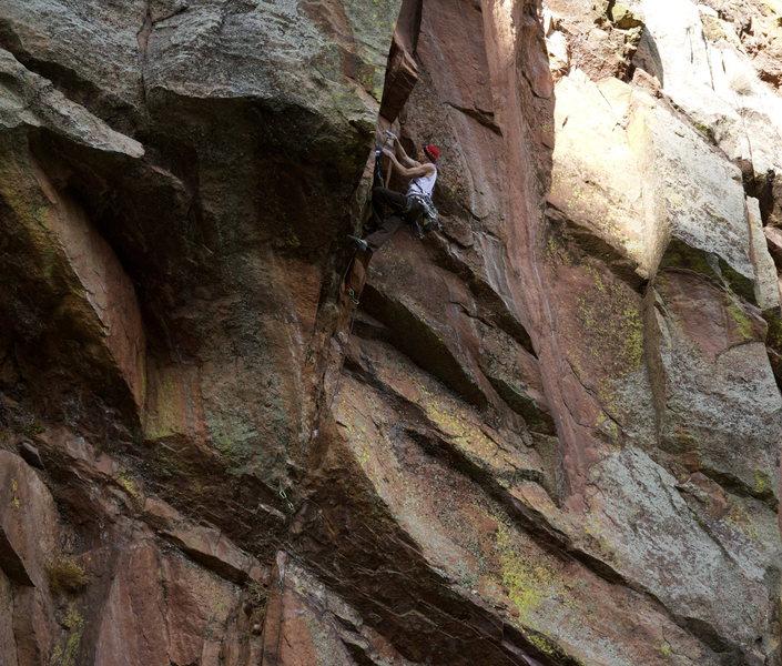 Rock Climbing Photo: Ace of Spades, Hard Cor Photography.