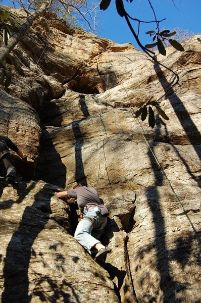 Rock Climbing Photo: The Hideout