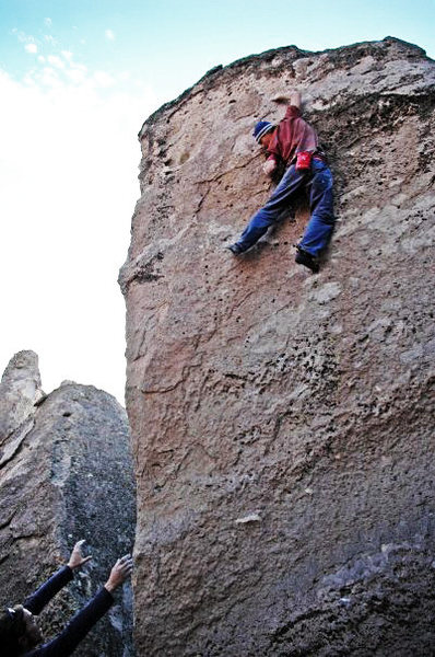 Rock Climbing Photo: 'Gigantor'