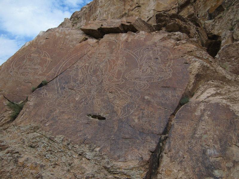 Rock Climbing Photo: Buddha Rock