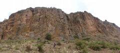 Rock Climbing Photo: A panorama of Armora Gedel.