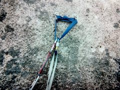 Rock Climbing Photo: Only American Death Triangle Ive ever used- It was...