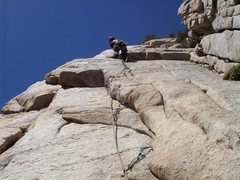 Rock Climbing Photo: Getting ready to pull the mini-roof, thinking &quo...