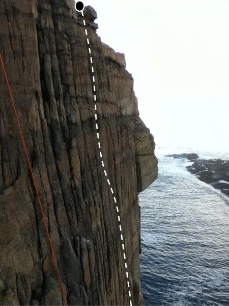 Rock Climbing Photo: Sea Section - 5.6