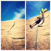 "Rock Climbing Photo: The ""crack"""