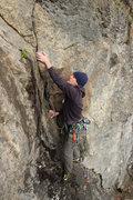 Rock Climbing Photo: matt on Abe