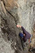 Rock Climbing Photo: Abe