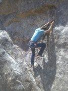 Rock Climbing Photo: Pretty fun, it's hard to spot the bolts higher up.