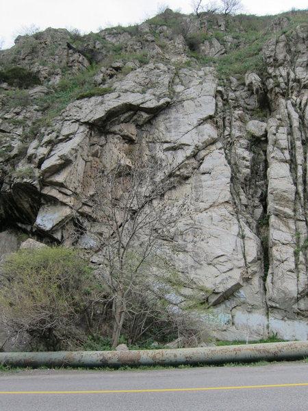 Medeu Crag