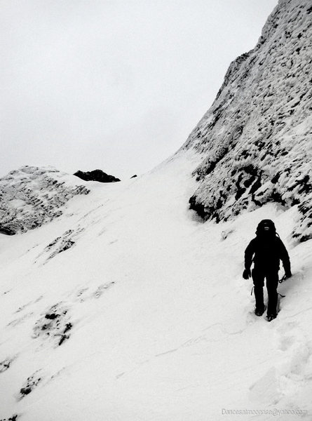 Rock Climbing Photo: The Avenue in winter.