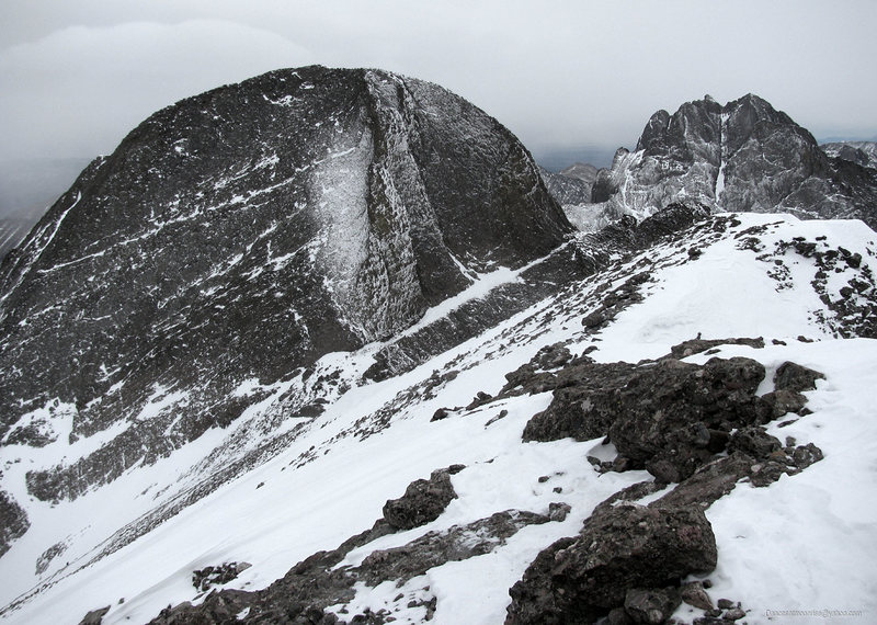 Kit Carson, seen from Challenger Point, February 3, 2013.